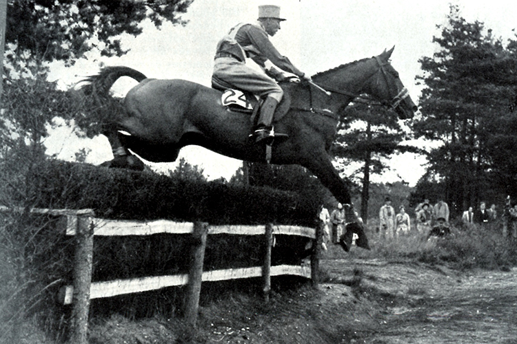 Anglo-Arabian Aiglonne won Olympic Gold in three day eventing in 1948